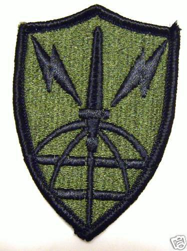 ARMY INFORMATION SYSTEMS ENGINEERING CMD PATCH SUBDUED:MD10-1Other Militaria - 135