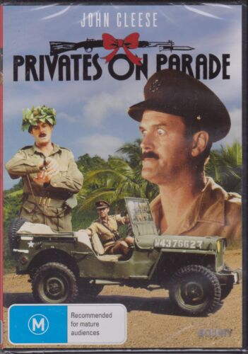 PRIVATES ON PARADE - JOHN CLEESE - DENIS QUILLEY - MICHAEL ELPHICK  - DVD
