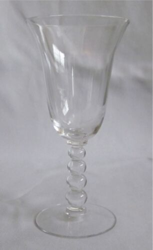 Water Goblet Imperial Glass Candlewick Pattern