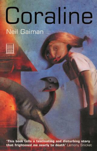 Coraline by Neil Gaiman Paperback Book Free Shipping!