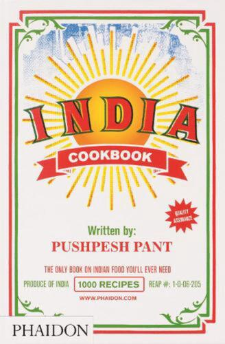 India Cookbook by Pushpesh Pant (English) Hardcover Book Free Shipping!