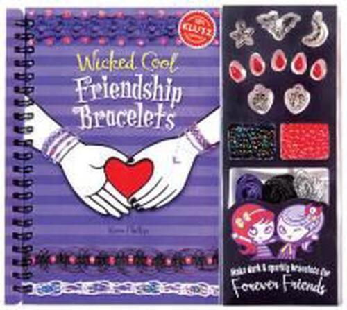 Wicked Cool Friendship Bracelets [With Charms, Bracelet-Making Materials and Bea