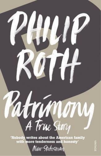 Patrimony: A True Story by Philip Roth (English) Paperback Book Free Shipping!