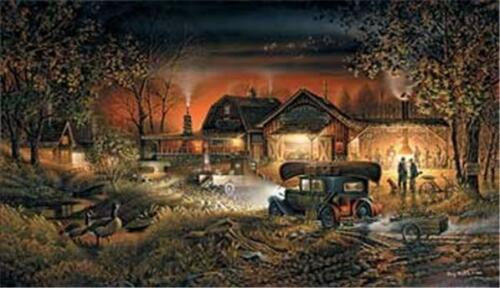Morning Warmup By Terry Redlin Signed and Numbered Art Print