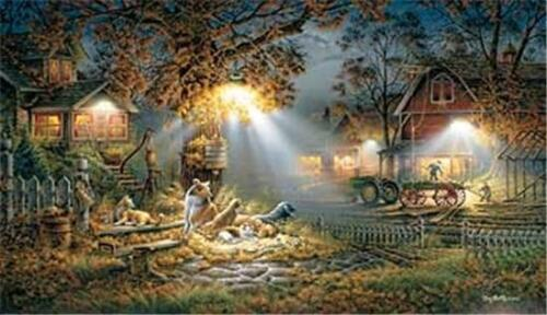 Our Friends By Terry Redlin Signed and Numbered Dog Farm Art Print