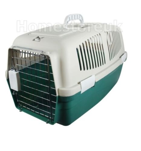 PET BIRD CAT DOG PUPPY HAMSTER RABBIT CARRIER PLASTIC CRATE CAGE TRAVEL BASKET