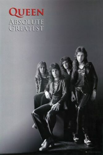 QUEEN POSTER Amazing Group Shot RARE HOT NEW 24x36