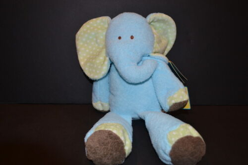 Carter's Just One Year Blue Musical Elephant Crib Toy NEW NWT