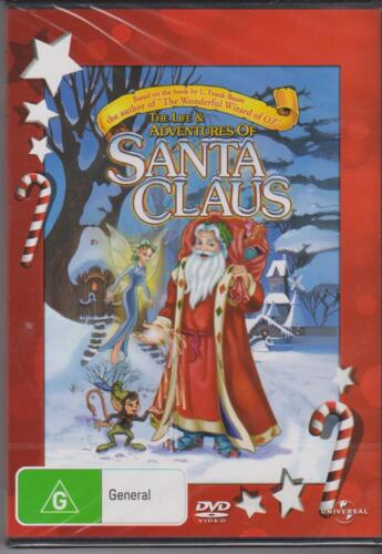 THE LIFE & ADVENTURES OF SANTA CLAUS- ANIMATION - DVD