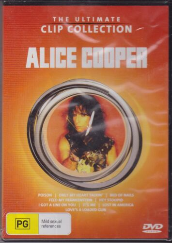 ALICE COOPER - THE ULTIMATE CLIP COLLECTION - DVD