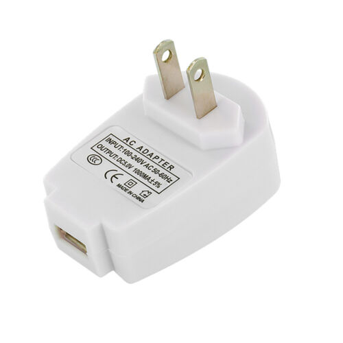 1Amp USB Wall Home Travel Charger Accessory White for Cell Phones <br/> PROMOTION: BUY ANY 2 ITEMS IN OUR STORE GET $1 OFF!