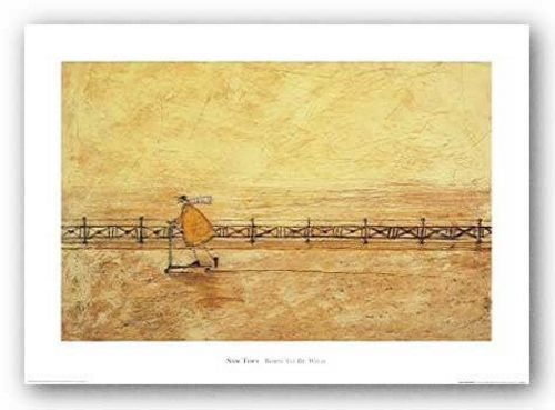 ART PRINT Born to Be Wild by Sam Toft