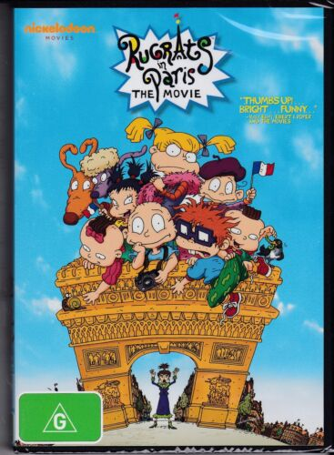 RUGRATS IN PARIS - THE MOVIE - A PERFECT FAMILY FILM - ANIMATION - DVD