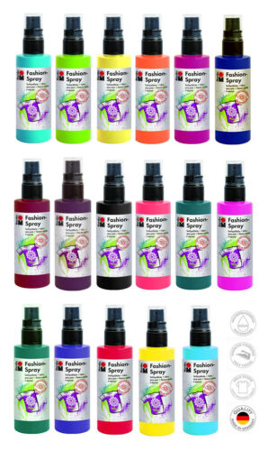 Fashion-Spray (5,29€/100ml) 100 ml Farbspray Textilfarbe Sprühfarbe, Marabu
