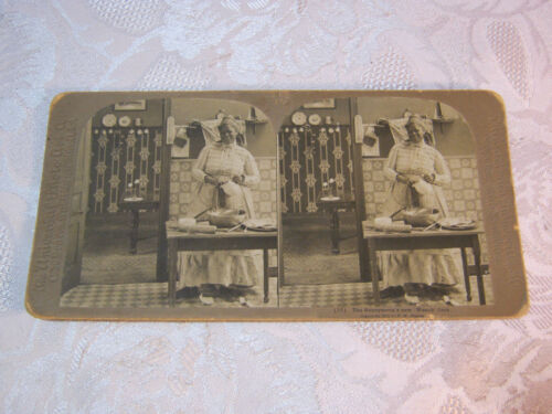 BLACK AMERICANA STEREOVIEW CARD ANTIQUE    T*