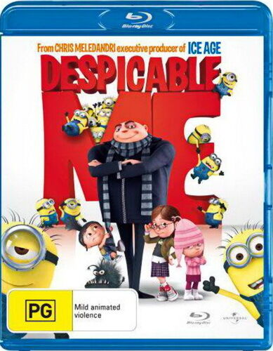 Despicable Me - Comedy / Animation / Family / Mild Violence - NEW Blu-ray