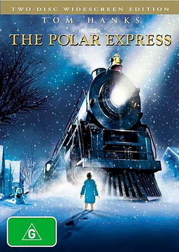 The Polar Express - Animation / Family / Adventure - Tom Hanks - NEW DVD