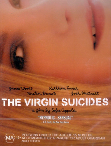 The Virgin Suicides - Mystery / Romantic / Drama - Kirsten Dunst - NEW DVD