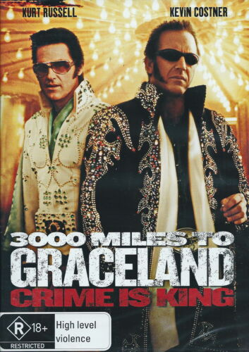 3000 Miles To Graceland - Action / Thriller / Violence - Kurt Russell - NEW DVD