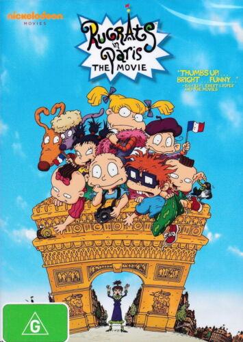 Rugrats In Paris: The Movie - Animation / Adventure / Family - NEW DVD