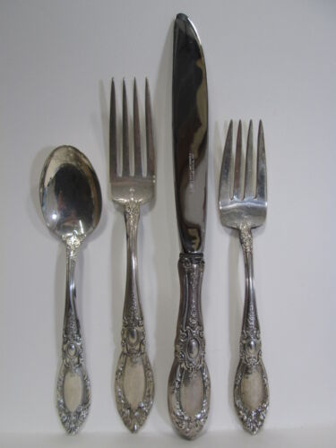 4 Pc. Towle Sterling Silver Place Setting 1932 King Richard #5