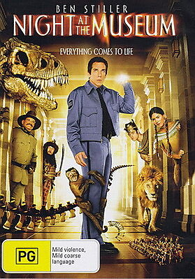 Night At The Museum - NEW DVD