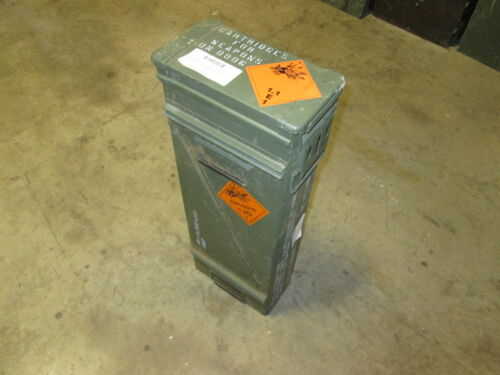 Large Waterproof Steel 120mm Ammo Can Military Surplus for Survivalist, PreppersOther Military Surplus - 588
