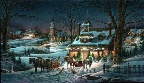 """Terry Redlin Evening Rehearsals Signed and Numbered 32"""" x 18.5 With Certificate"""