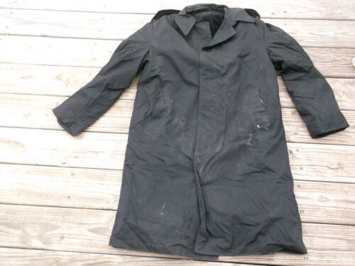 US MILITARY ALL WEATHER COAT  W/ LINER BLACK SIZE 36SOriginal Period Items - 13983