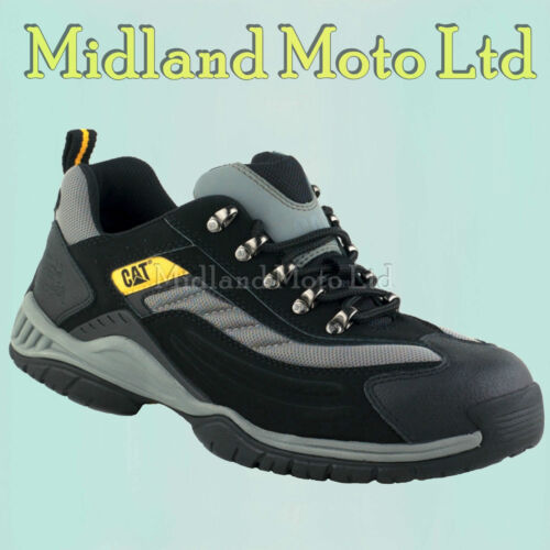 Caterpillar Steel Toe Cap Moor SB Safety Trainers Boots, CAT, Shoes 7025