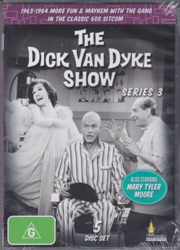THE DICK VAN DYKE SHOW - SERIES 3  on 5 DVD's - 32 EPISODES