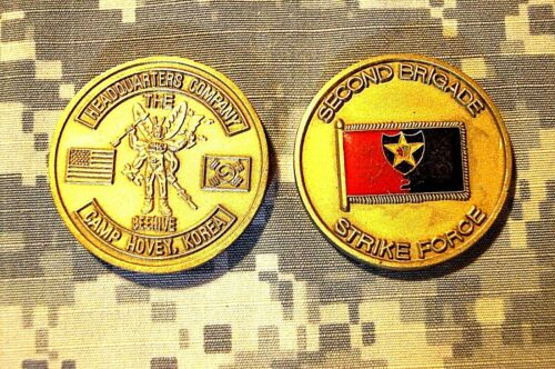 U.S United States Army95th Civil Affairs BrigadeMilitary Gold Plated Coin