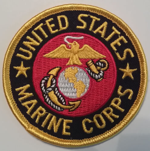 US MARINE CORPS USMC 3 INCH ROUND PATCH - MADE IN THE USA!Marines - 48825