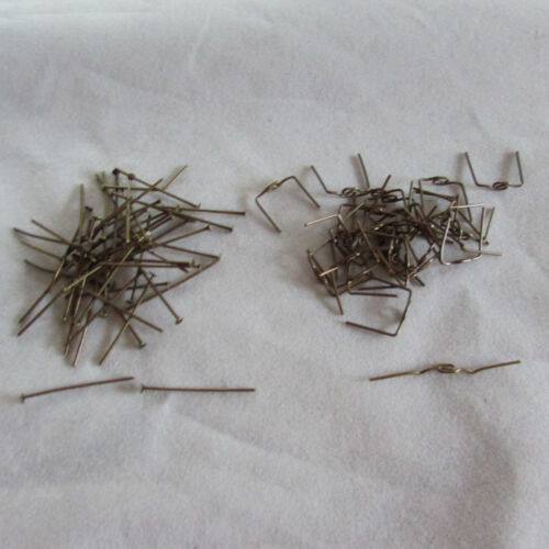 100 Antique Style Connector Parts-  for Chandelier Crystals/Prisms