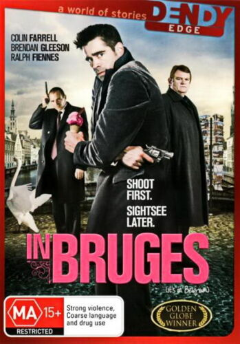 In Bruges - Action / Comedy / Thriller - Colin Farrell, Ralph Fiennes - NEW DVD