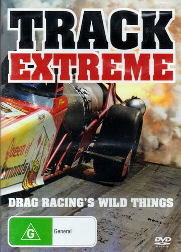 Track Extreme Drag Racing Wild Things - Motosport - NEW DVD