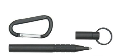FISHER SPACE - Trekker Ballpoint Pen - MATTE BLACK - Made in the USA