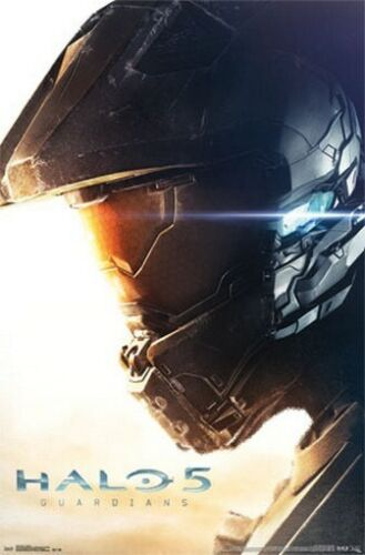 HALO 5 POSTER Guardians RARE HOT NEW 22x34