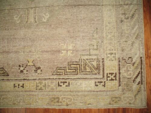 Antique East Turkestan Khotan Rug Size 4'9''x9'