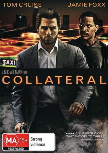 Collateral - Thriller / Action - Tom Cruise - NEW DVD