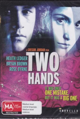 TWO HANDS -  Heath Ledger, Bryan Brown, David Field - DVD