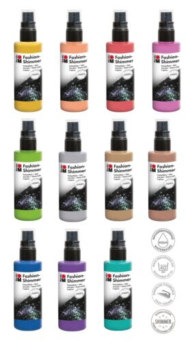 (6,29€/100ml) Fashion-Spray 100 ml SHIMMER Textilfarbe SPRÜHFARBE MARABU