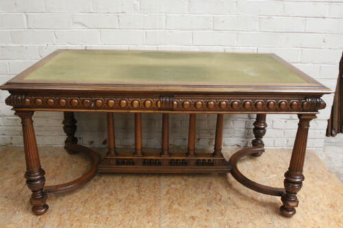 1112043 : Antique French Renaissance Henry II Carved Desk Writing Table