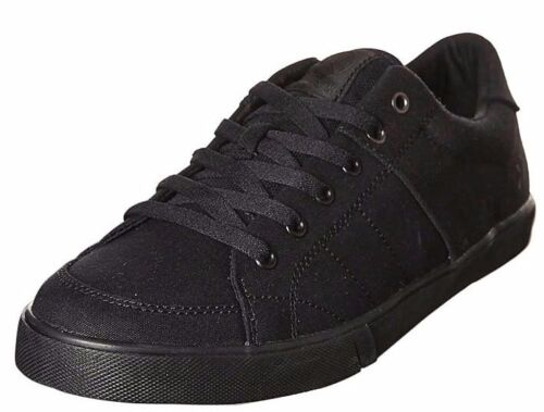 Men's Kustom Kramer All Black Divide Canvas Shoes. Size 8-13. NIB, RRP $79.99.