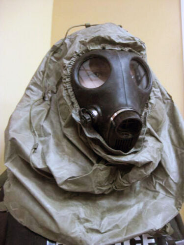 GAS MASK HOOD COVER FACE HEAD PROTECTION PAINTBALL NBCGas Masks - 158440