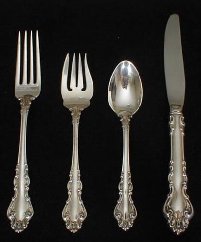 Reed and Barton SPANISH BAROQUE 4 pc. place setting(s)