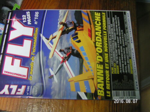 1?µ µ? Revue FLY n°186 Le FOX Cessna 400 Angel S 30E Lacey M10 Spitfire 40 C640