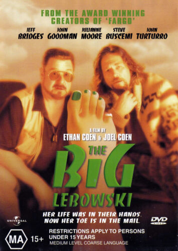 The BIG LEBOWSKI  DVD R4 - PAL