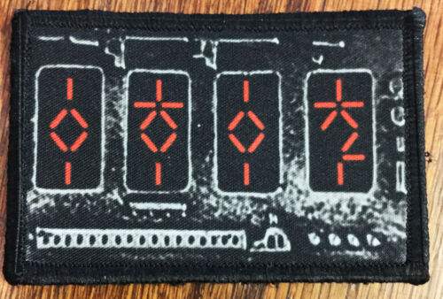 PREDATOR Movie  AUTODESTRUCTION Device Morale Patch  Tactical ARMY Hook MilitaryArmy - 48824