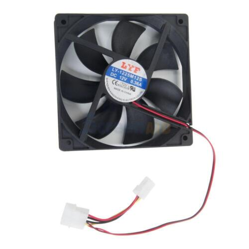 New 4Pins 120mm IDE Chassis Fan Cooling For Computer PC Desktop Host DC Fan